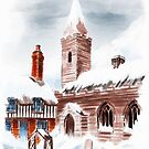Winter in the Dream Village by Rasendyll
