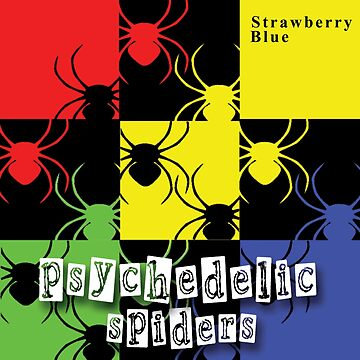 Psychedelic Spiders by Strawberry Blue - full cover art by GreenTeacup