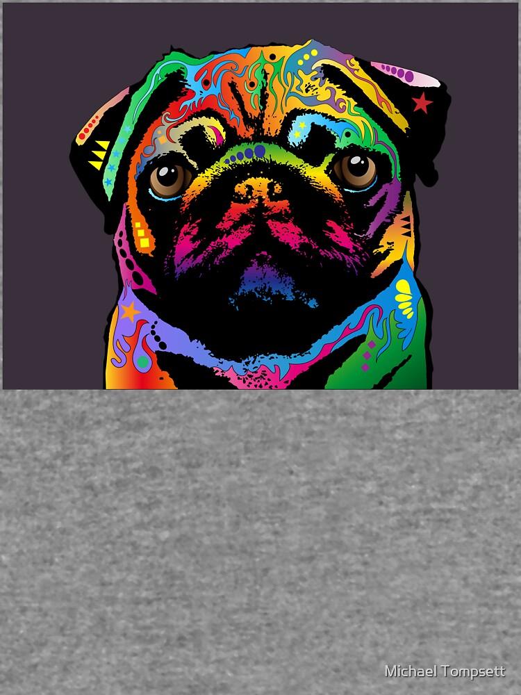 Perro pug de ArtPrints