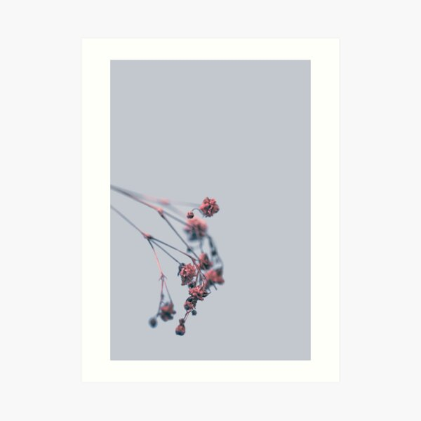 Filling the void with beauty Art Print