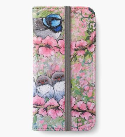 Blossom Family Étui Portefeuille iPhone