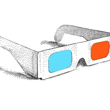 Retro 3D Glasses by illustrxn