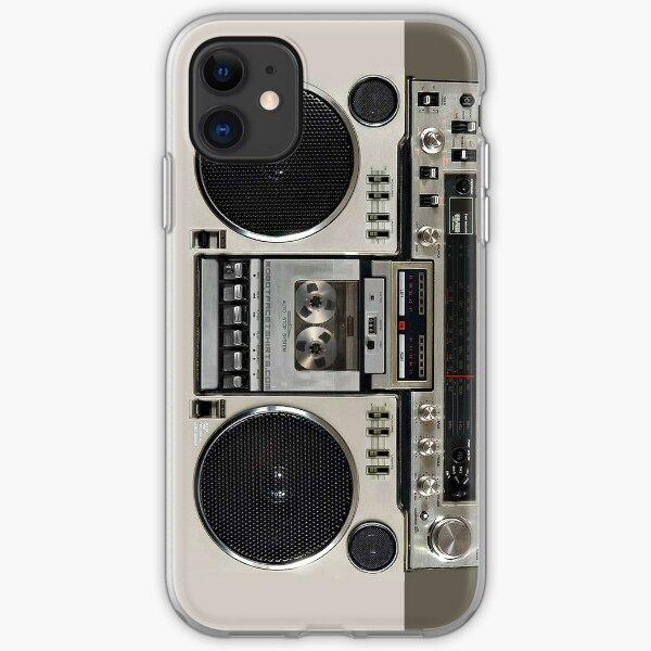Vintage 80s Boombox Ghettoblaster iPhone Soft Case