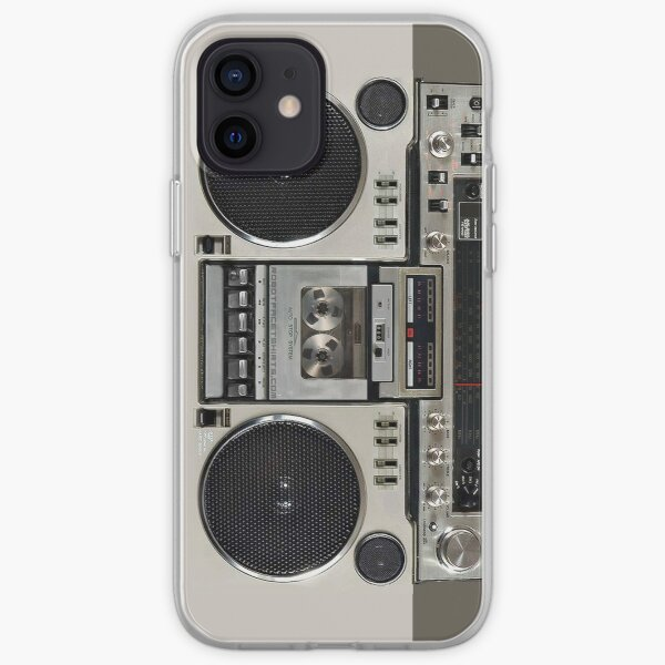Vintage 80s Boombox Ghettoblaster iPhone Soft Case