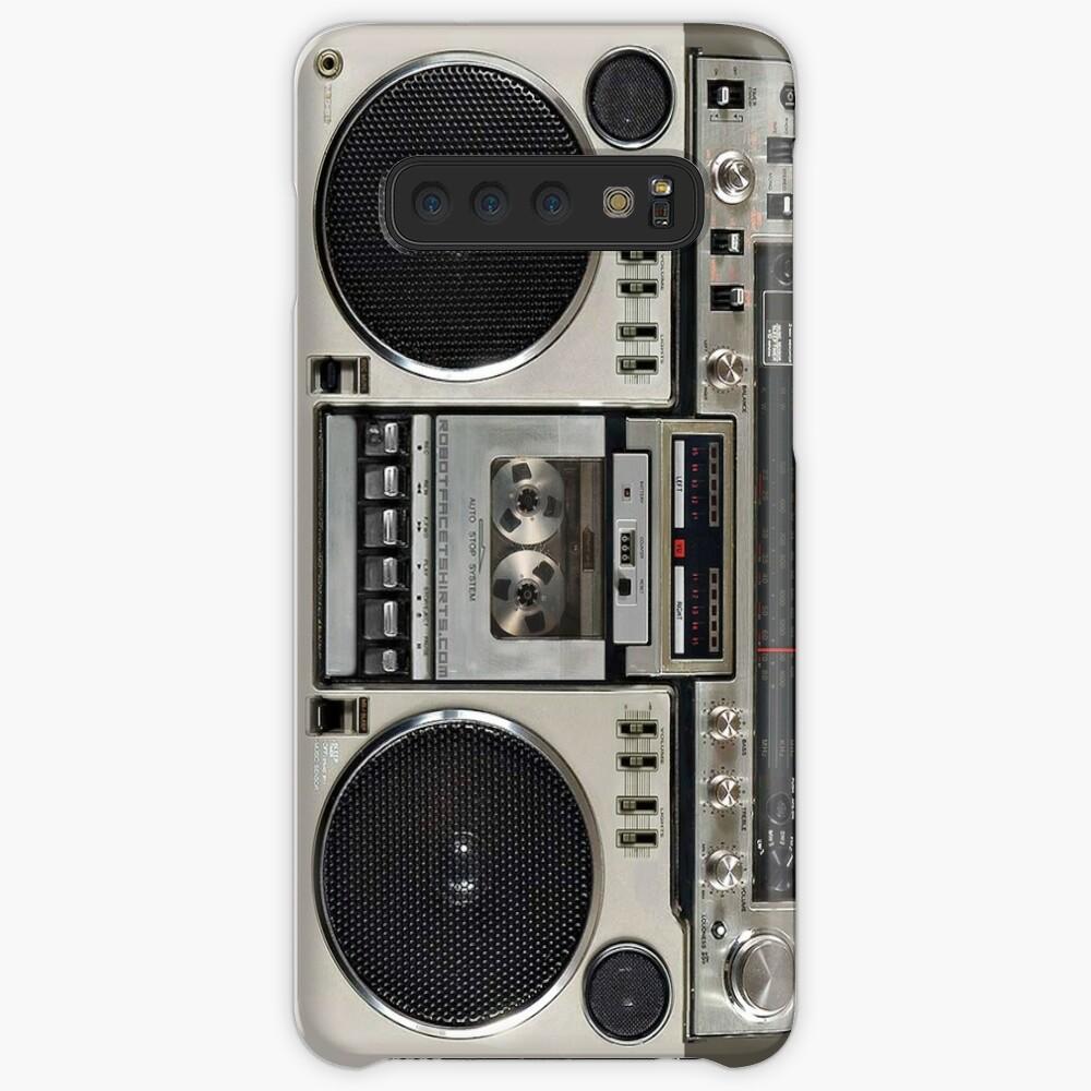 Vintage 80s Boombox Ghettoblaster Case & Skin for Samsung Galaxy