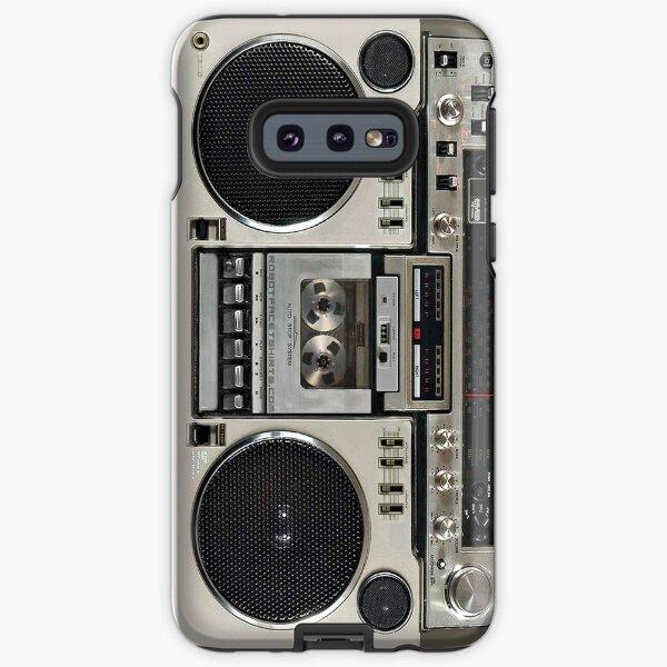Vintage 80s Boombox Ghettoblaster Samsung Galaxy Tough Case