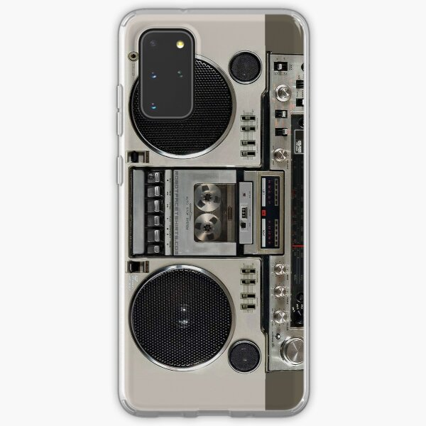 Vintage 80s Boombox Ghettoblaster Samsung Galaxy Soft Case