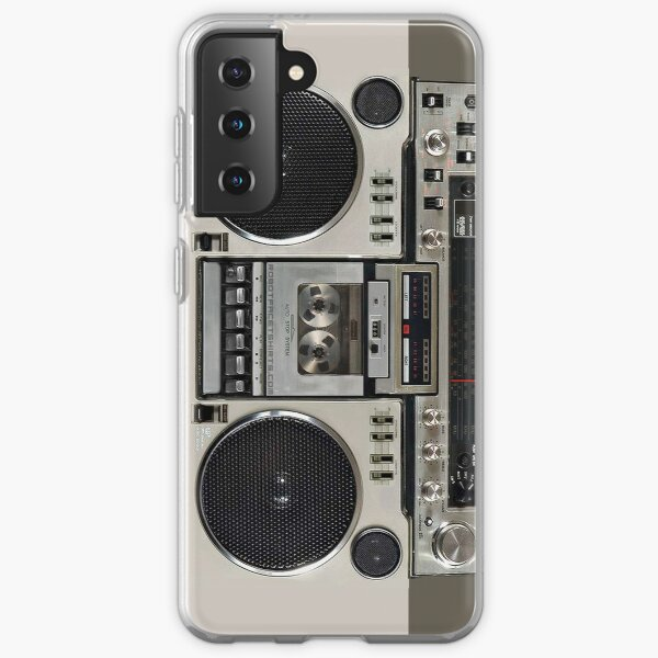 Vintage 80er Boombox Ghettoblaster Samsung Galaxy Flexible Hülle
