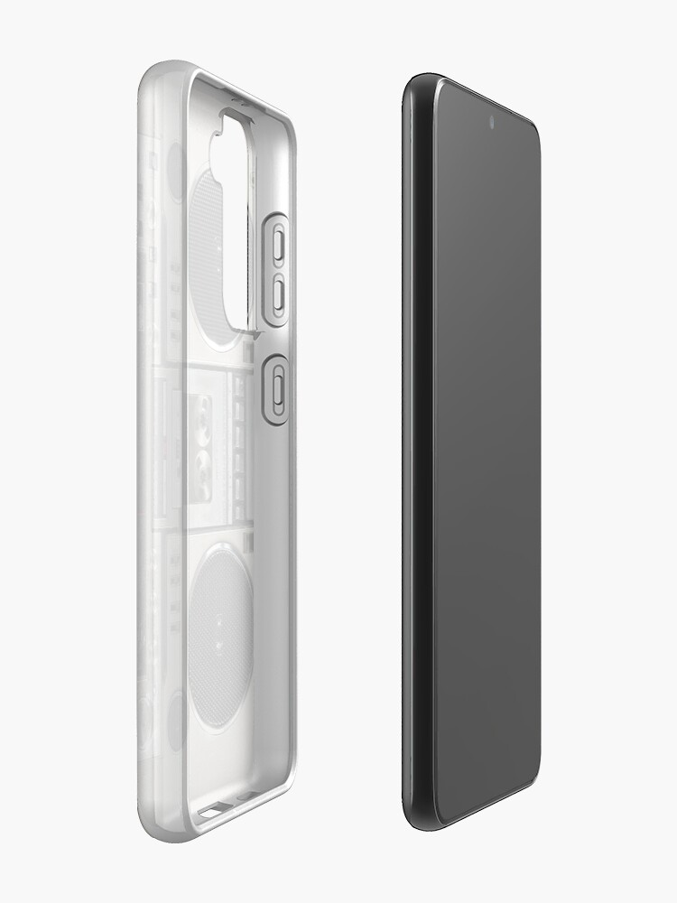 Alternate view of Vintage 80s Boombox Ghettoblaster Case & Skin for Samsung Galaxy