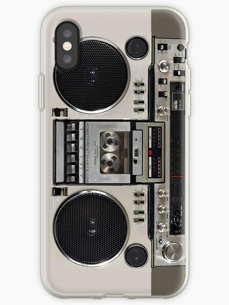 Vintage 80s Boombox Ghettoblaster von robotface