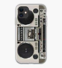 Vintage 80s Boombox Ghettoblaster iPhone Case