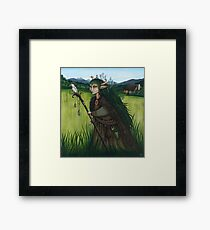 """""""Walking the Old Paths"""" Framed Print"""