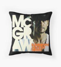Tim McGraw - Sundown Heaven Town Throw Pillow