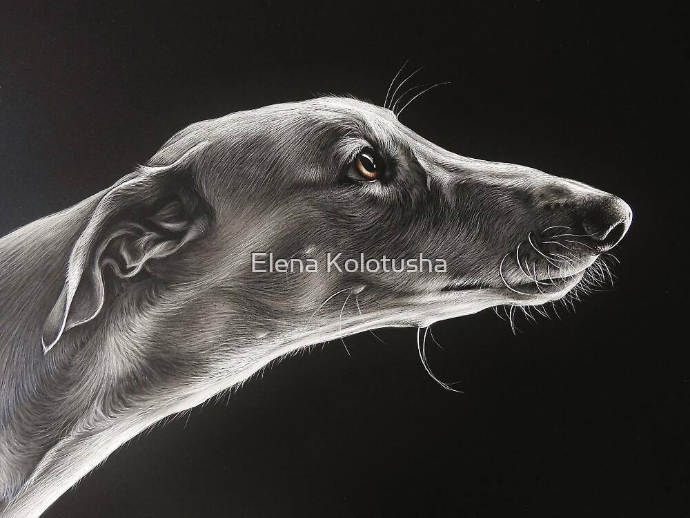 Fascination (detail) by Elena Kolotusha