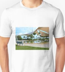 Early Morning Reflections - Lagoon, Airlie Beach, Australia Unisex T-Shirt