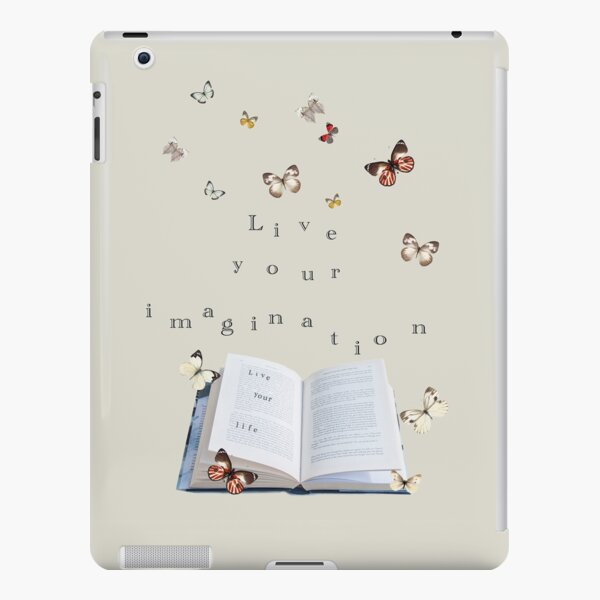 Live your life, live your imagination iPad Snap Case
