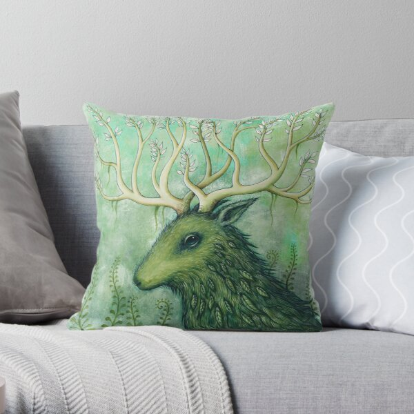 """""""Sianch of the Mountain""""  Throw Pillow"""