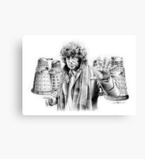 Baker, That's WHO! Canvas Print