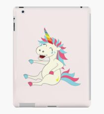 Crazy Unicorn - Hilarious Edition iPad Case/Skin
