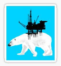 Save the Polar Bear Sticker