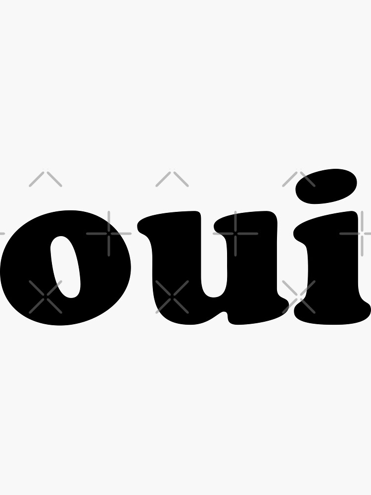 Oui   French by koovox