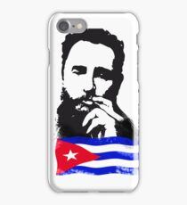 Fidel castro cuba revolution tod gedenken iPhone Case/Skin