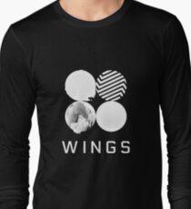 BTS Wings Logo (Black) Long Sleeve T-Shirt
