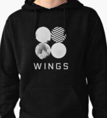 BTS Wings Logo (Black) Pullover Hoodie