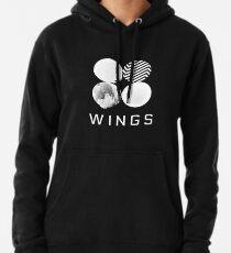 BTS Wings Logo (Schwarz) Hoodie