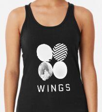 BTS Wings Logo (Black) Women's Tank Top