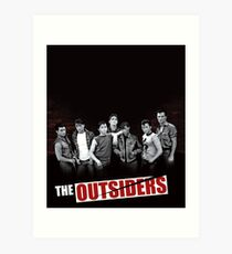 The Outsiders Cover Limited Edition Art Print
