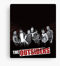 The Outsiders Cover Limited Edition Canvas Print