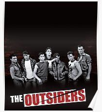 The Outsiders Cover Limited Edition Poster
