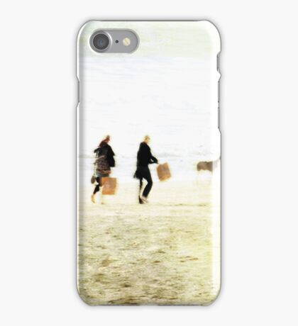 Family On The Beach iPhone Case/Skin