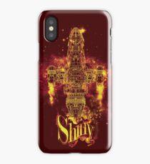 shiny spaceship iPhone Case/Skin