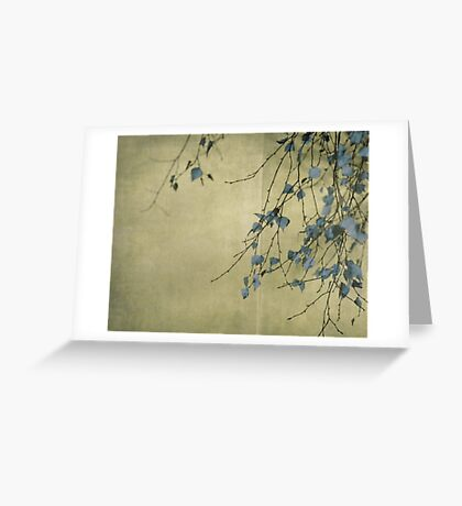 Nature's ink Greeting Card
