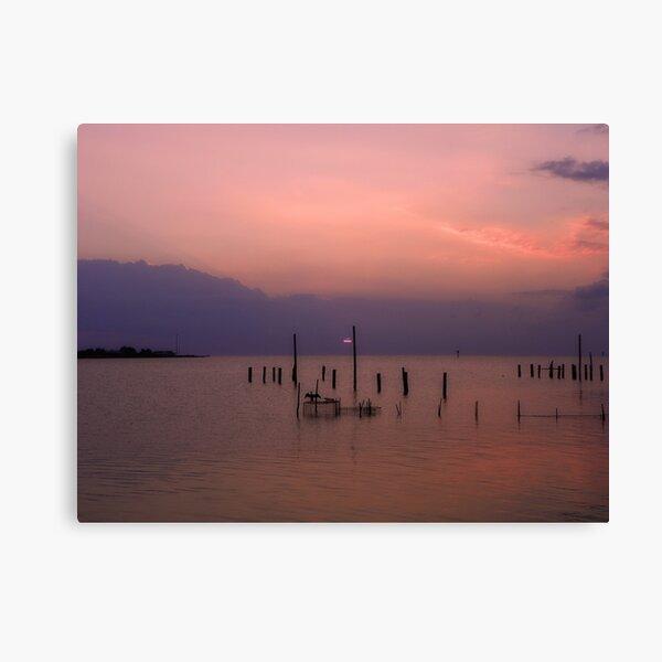Tangier Sound Sunset Canvas Print
