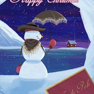 Christmas Snowman by NiallByrne