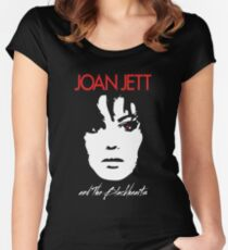 Joan Jett Women's Fitted Scoop T-Shirt