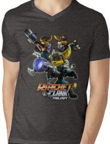 Ratchet & Clank Trilogy  Mens V-Neck T-Shirt