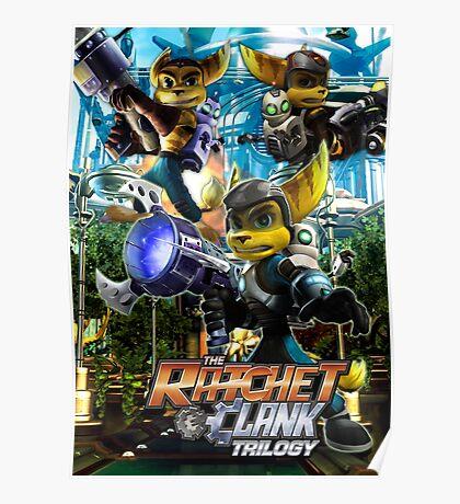 Ratchet & Clank Trilogy  Poster