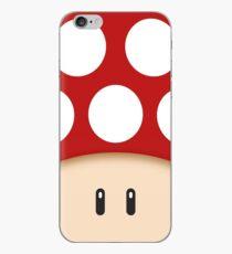 Vinilo o funda para iPhone Red Super Mushroom