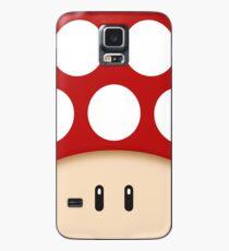Red Super Mushroom Case/Skin for Samsung Galaxy
