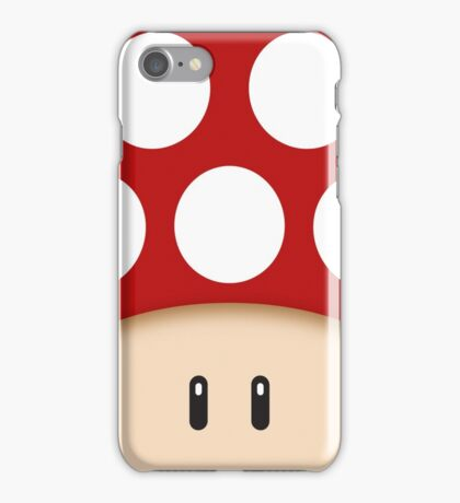 Red Super Mushroom iPhone Case/Skin