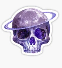 Cosmic Skull  Sticker