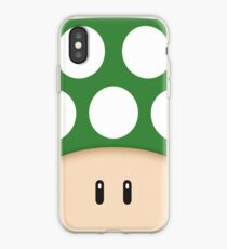 Vinilo o funda para iPhone Green 1UP Mushroom