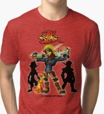 Jak & Daxter Trilogy  Tri-blend T-Shirt