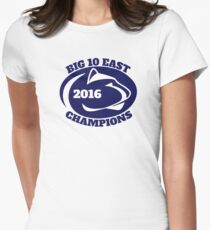 Penn State Football Big Ten East Champions Womens Fitted T-Shirt