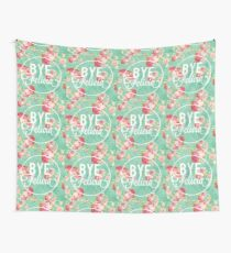 Vintage Fabric Floral Bye Felicia Wall Tapestry