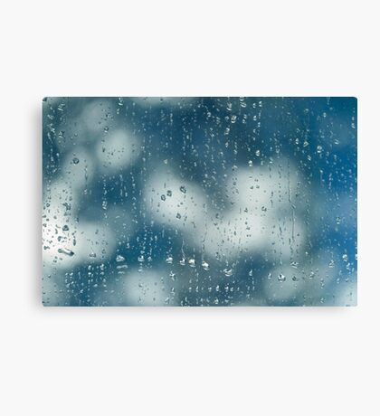 A rainy day Canvas Print